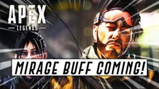 Apex Legends: MIRAGE BUFF IS COMING & Feedback on New Changes In Update! (Apex Legends Season 4)