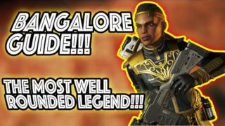 BANGALORE GUIDE!!! HOW TO USE THE MOST WELL ROUNDED LEGEND!!! APEX LEGENDS TIPS AND TRICKS