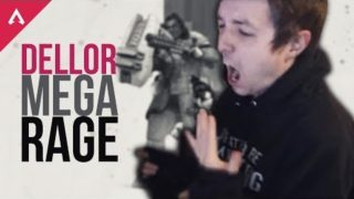 DELLOR APEX LEGENDS MEGA RAGE 1 *PLAYS FOR THE FIRST TIME*