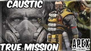 Finding the cure for Death: Caustic secret mission APEX LEGENDS THEORY
