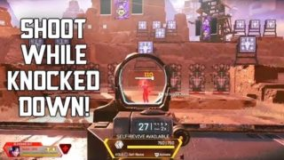 How to Shoot While Knocked Down Glitch | Apex Legends Season 5