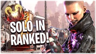 I was SOLO in a pred lobby.. (Apex Legends PS4)