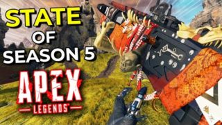 The State of Apex Legends – Season 5.