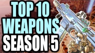 TOP 10 WEAPONS TO USE IN APEX LEGENDS SEASON 5