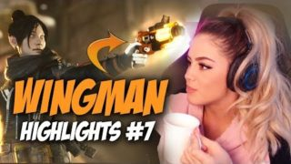 WHEN THE WINGMAN HITS JUST RIGHT 😩 – Apex Legends Clutch Moments | Highlights & Clip Compilation #7