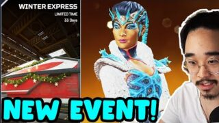 CHRISTMAS EVENT!! The Holo-Day Bash Event is HERE!! (Apex Legends Season 7)