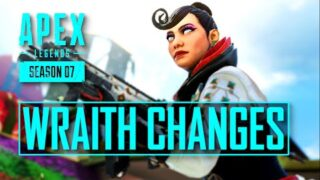 New Wraith Changes Coming Apex Legends + Most Played Legends