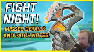 Apex Legends Fight Night Collection Event Missed Details and Patch Notes!