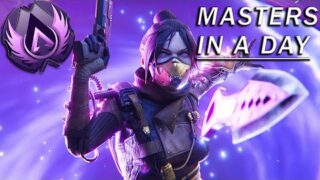 How I Got Masters Rank in Under 24 Hours… (Apex Legends)
