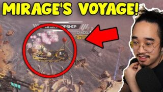 MIRAGE VOYAGE IS ON KINGS CANYON NOW?? (Apex Legends)