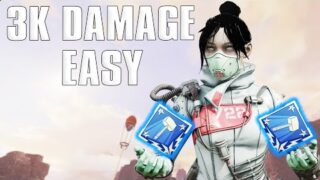 Tips On How To Get The 3K Damage Badge EASILY | Apex Legends (Guide)