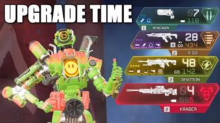 Using the *NEW* Weapon Upgrade System in Apex Legends
