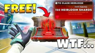 How to Get an HEIRLOOM for FREE in APEX! – NEW Apex Legends Funny & Epic Moments #563