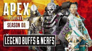 Loba and Revenant BUFFS with a Gibraltar NERF!!!! Season 8 Apex Legends