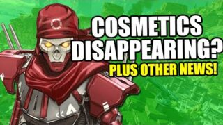 Apex Legends Cosmetics Disappearing Bug + Massive Update Coming