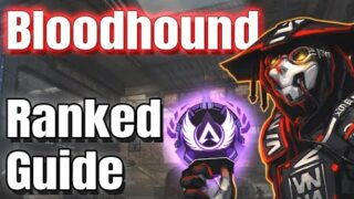 Apex Legends Master Bloodhound Guide For RANKED ! Master Legend Ranked Guide ! Apex Legends Season 8