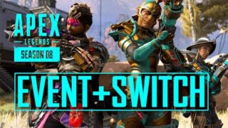 Chaos Theory Event Update Times Apex Legends + Switch Resolution & FPS Confirmed