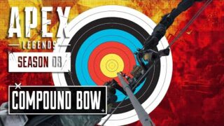 Compound Bow Update and Shatter Hop Up!!! Season 8 Apex Legends