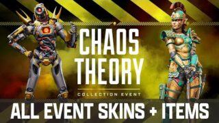 NEW CHAOS THEORY COLLECTION EVENT APEX LEGENDS SEASON 8 (ALL 24 NEW SKINS)