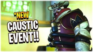 *NEW FIRST LOOK AT THE CAUSTIC EVENT!! (Apex Legends Chaos Theory Event)