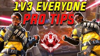 How To EASILY WIN Every 1v3 | Pro Tips For Apex Legends