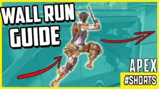 Smooth Apex Legends Wall Run In Combat & Guide On How To Do It! #shorts