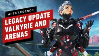 Apex Legends: Legacy – All Valkyrie abilities, Arenas Gameplay, & Bocek Details