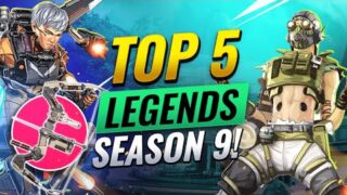5 BEST LEGENDS To Climb With in SEASON 9 – Apex Legends