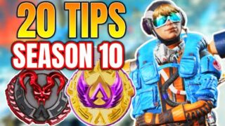20 Tips You MUST Know For Season 10! (Apex Legends)