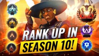 BEST WAY TO RANK UP FAST IN SEASON 10! (Apex Legends Advanced Tips & Tricks) Guide to Ranked Apex